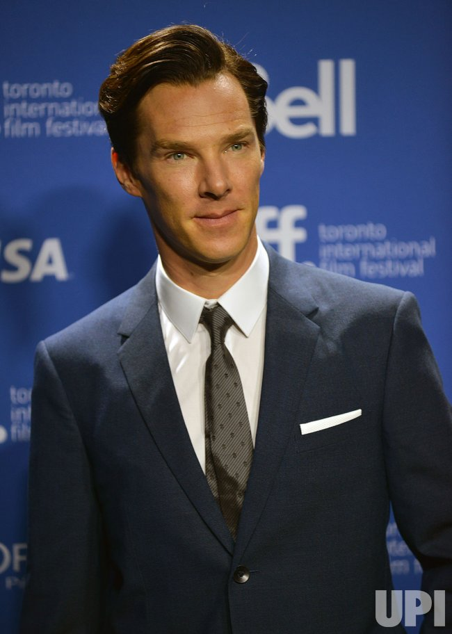 Benedict Cumberbatch attends 'The Fifth Estate' press conference at the Toronto International Film Festival