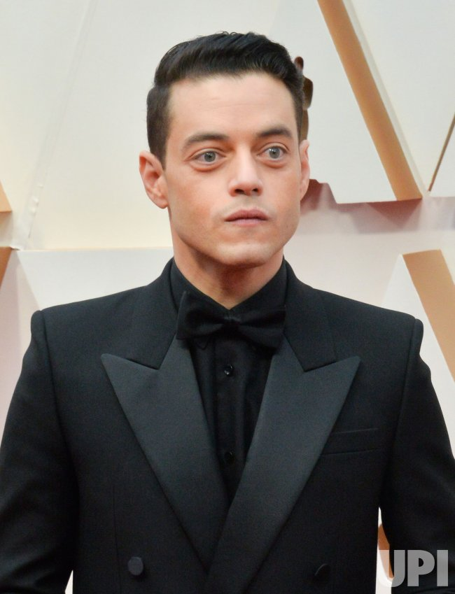 Rami Malek arrives for the 92nd annual Academy Awards in Los Angeles