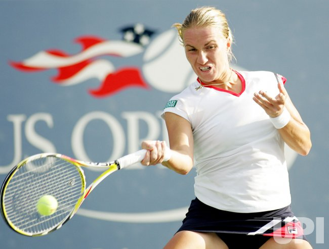 Kuznetsova competes in second round at the US Open tennis in New York