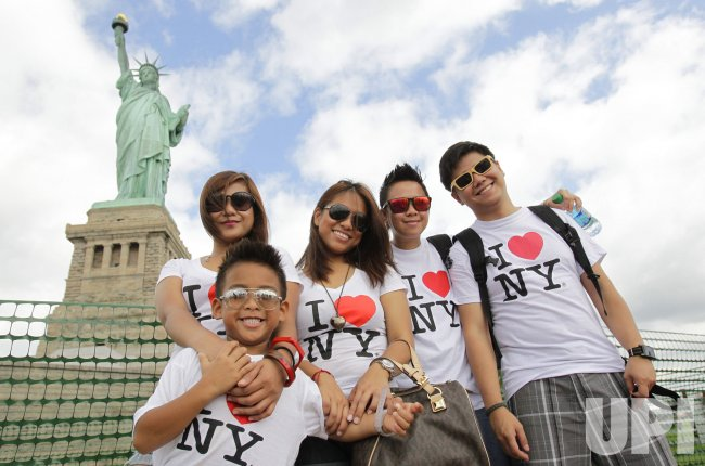 Reopening of the Statue of Liberty on Independence Day