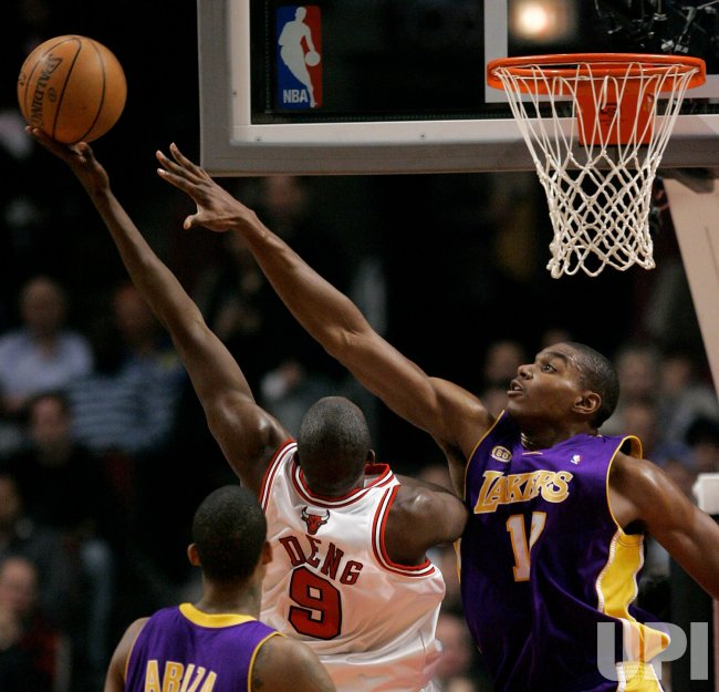NBA Basketball Los Angeles Lakers vs Chicago Bulls