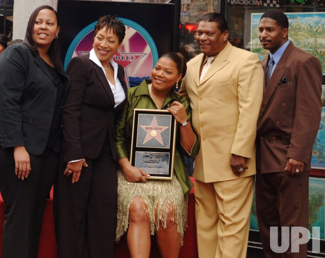 QUEEN LATIFAH RECEIVES STAR ON HOLLYWOOD WALK OF FAME