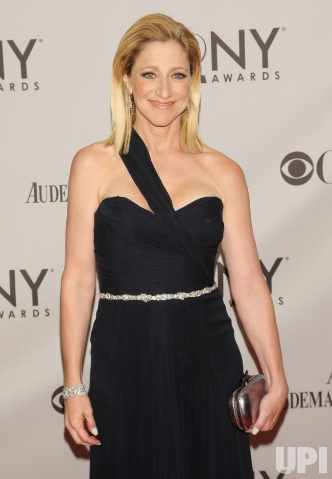 Edie Falco attends the 65th Annual Tony Awards held in New York