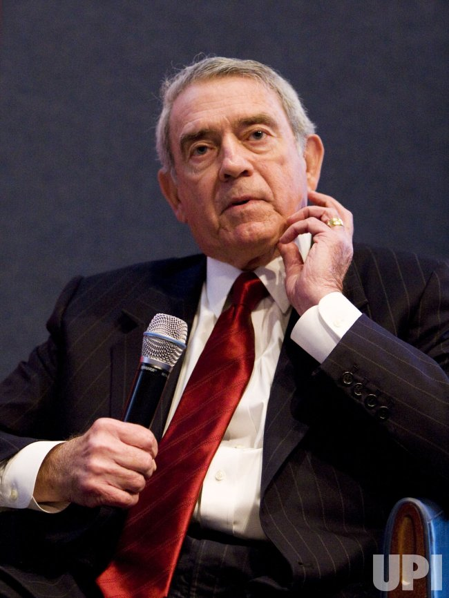 Dan Rather speaks in Washington