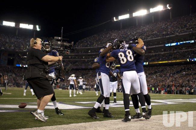 New England Patriots vs. Baltimore Ravens