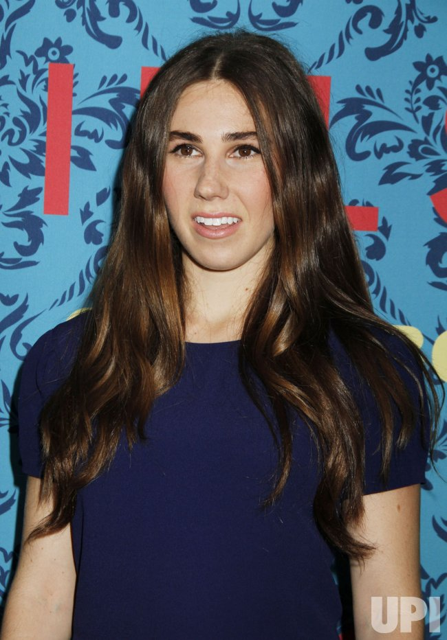 "Zosia Mamet arrives for the HBO premiere of ""Girls"" in New York"