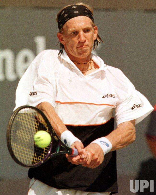1999 U. S. Open - Jarkko Nieminen from Finland wins Juniors Singles championship
