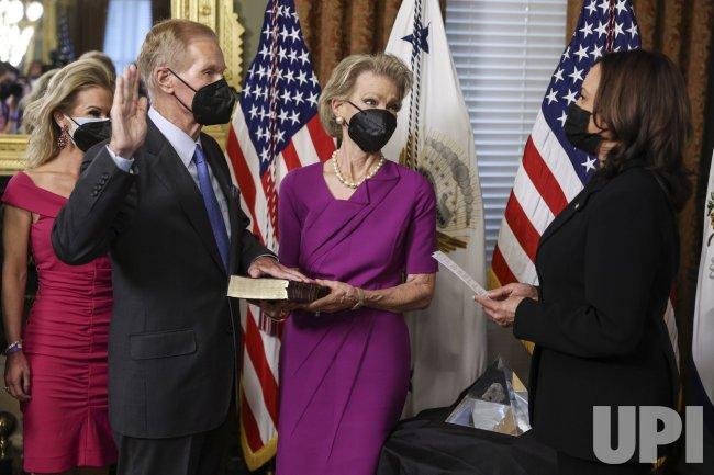 Vice President Harris Swears In Bill Nelson As NASA Administrator
