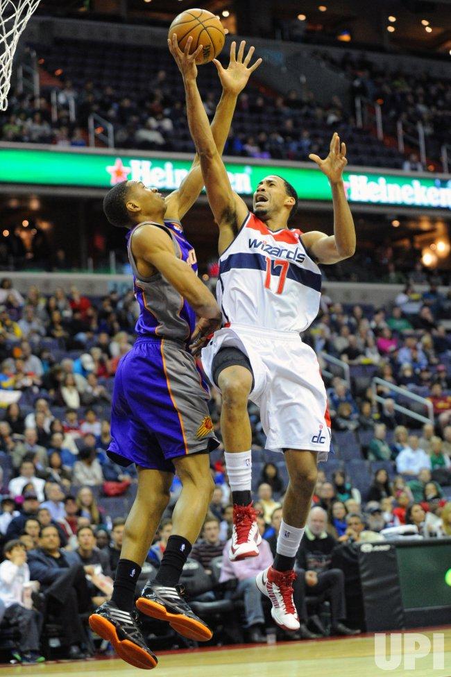 Washington Wizards vs Phoenix Suns in Washington