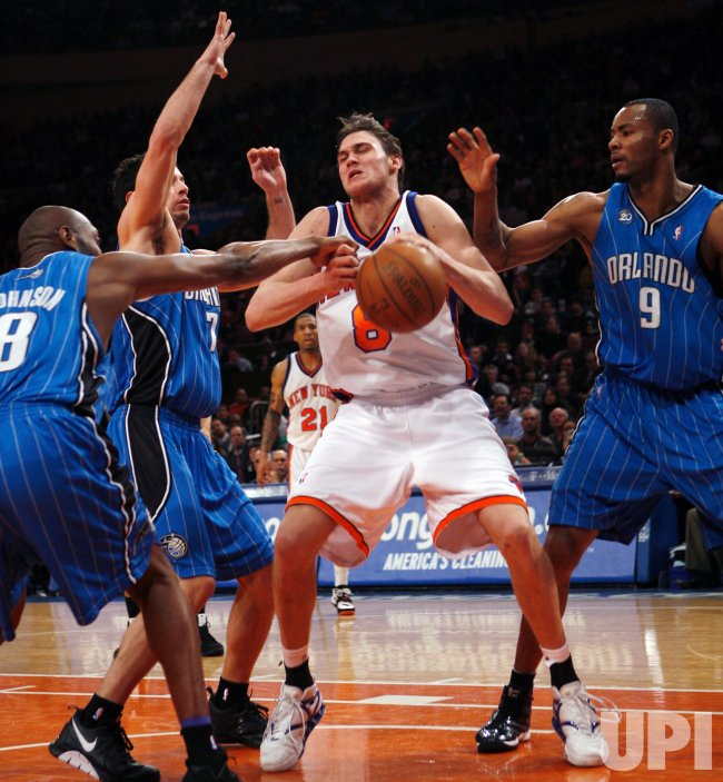 Orlando Magic vs New York Knicks in New York