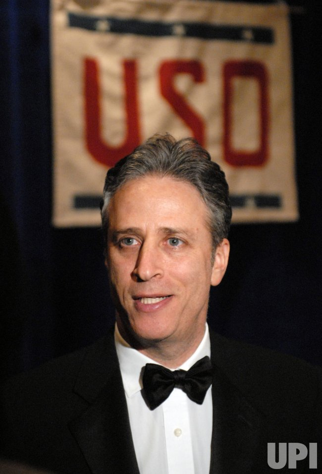 Jon Stewart honored by USO in Arlington, Virginia