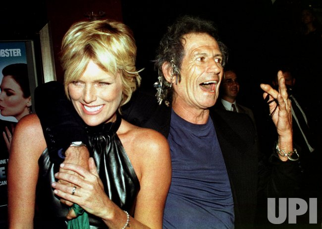 Keith Richards and wife Patty Hanson