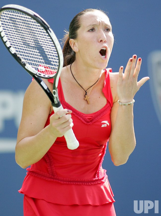 Jankovic competes in second round at the US Open tennis in New York