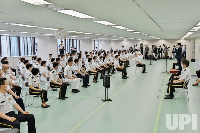 Japan Self‐Defense Forces launches a large-scale Covid-19 vaccination centres in Tokyo and Osaka