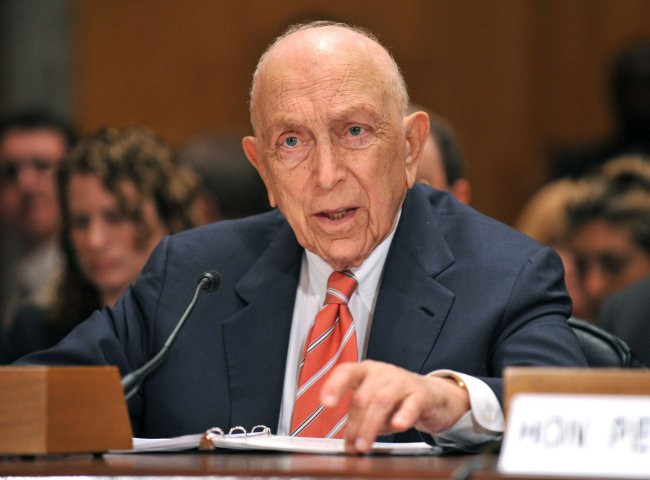 Sen. Frank Lautenberg (D-NJ) testifies on terrorism in Washington
