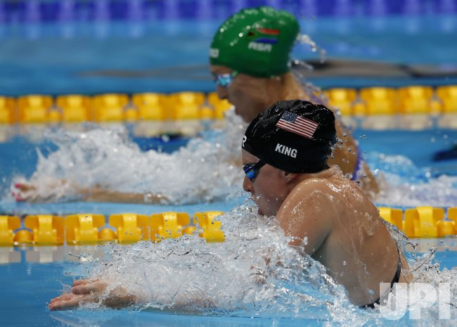 Women's 100m Breaststroke final at the 2020 Tokyo Olympics ...