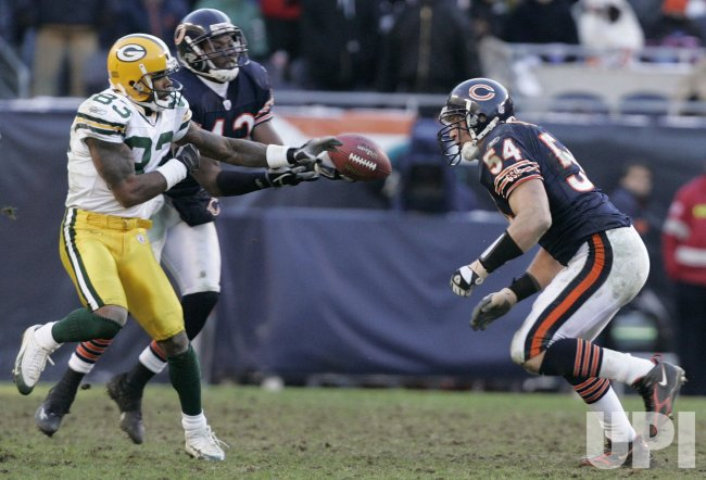 NFL GREEN BAY PACKERS VS CHICAGO BEARS