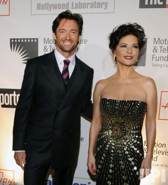 "Zeta-Jones hosts ""A Fine Romance"" benefit in Culver City, California"