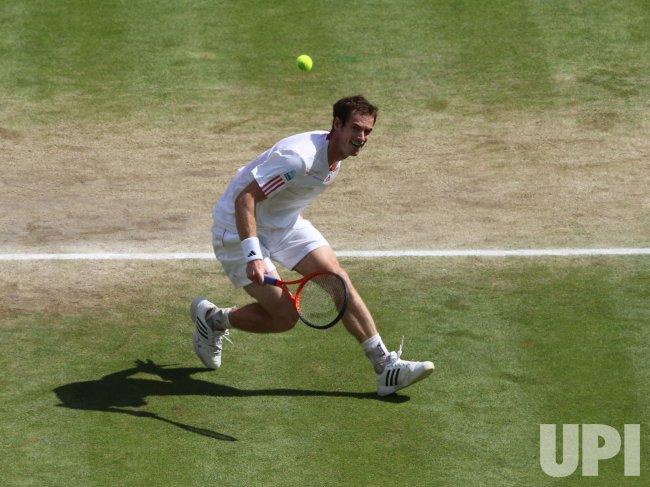 Men's Final at Wimbledon Tennis Championships in London