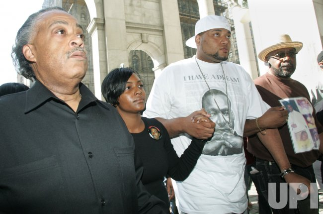 Demonstrators gather to protest acquittal of officers who shot Sean Bell in New York