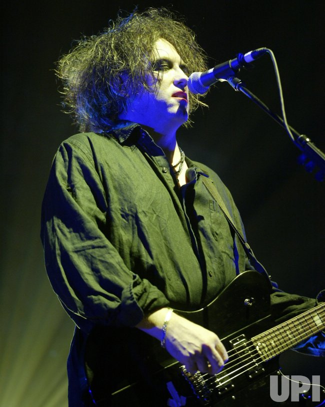 THE CURE AT THE CURIOSA FESTIVAL