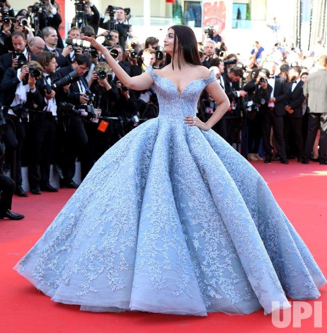 Aishwarya Rai attends the Cannes Film Festival
