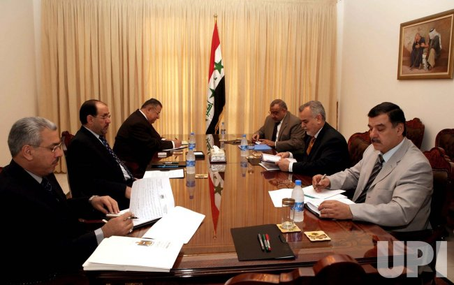 IRAQI PRIME MINISTER HOLDS MEETINGS IN IRAQ
