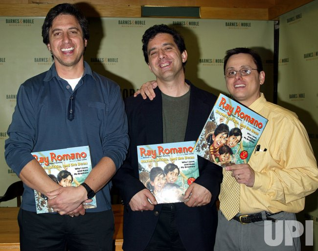 RAY ROMANO AND BROTHERS BOOKSIGNING  Ray Romano Robert Romano