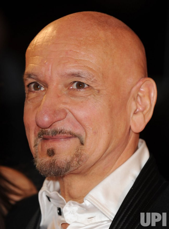 Ben Kingsley attends Fantastic Mr. Fox premiere in London