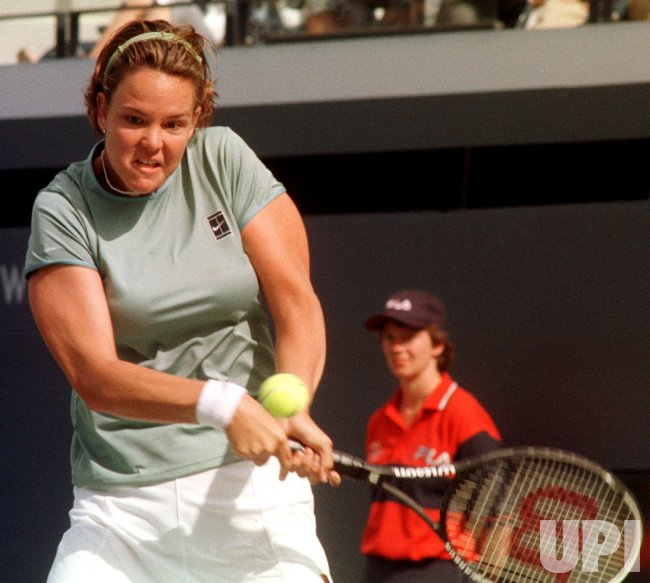 U.S. OPEN-1999---Lindsay Davenport vs Corina Morariu