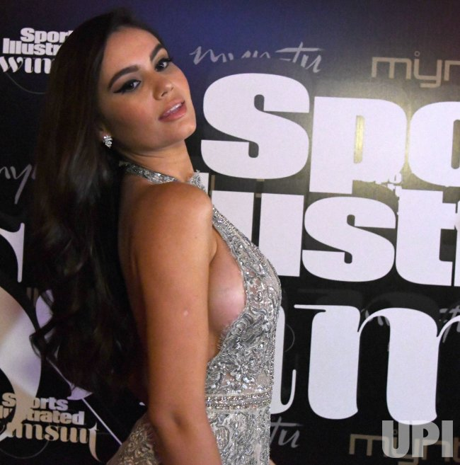 Anne de Paula Walks the Red Carpet At The 2019 SI Swimsuit
