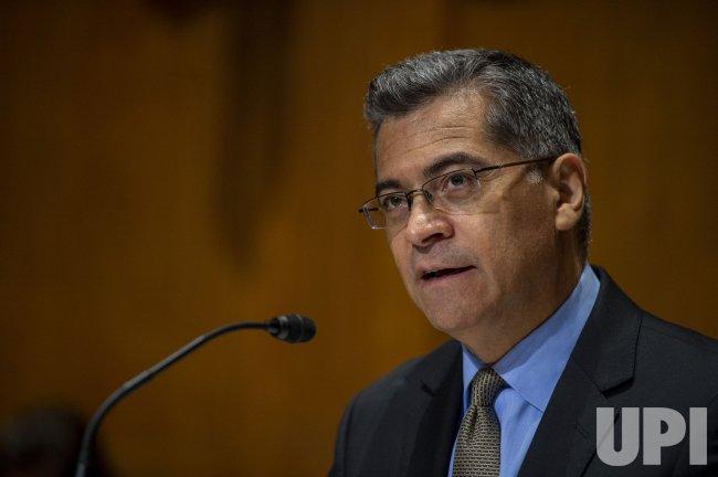 Xavier Becerra Testifies in Washington DC