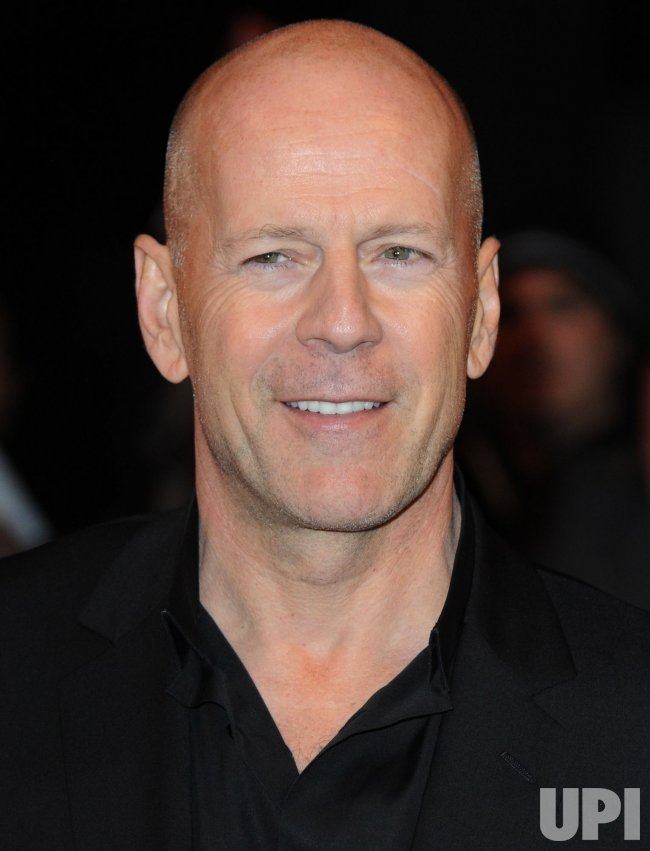 "Bruce Willis attends ""Red "" premiere in London"