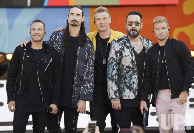 Backstreet Boys perform on GMA in New York