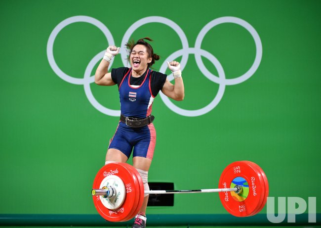 Women's 58kg Weightlifting at the 2016 Rio Olympics