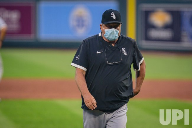 White Sox Donald James Cooper Walks to the Dugout