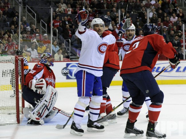 NHL Montreal Canadiens vs Washington Capitals in Washington