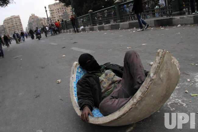 Clashes Near Cairo's Tahrir Square