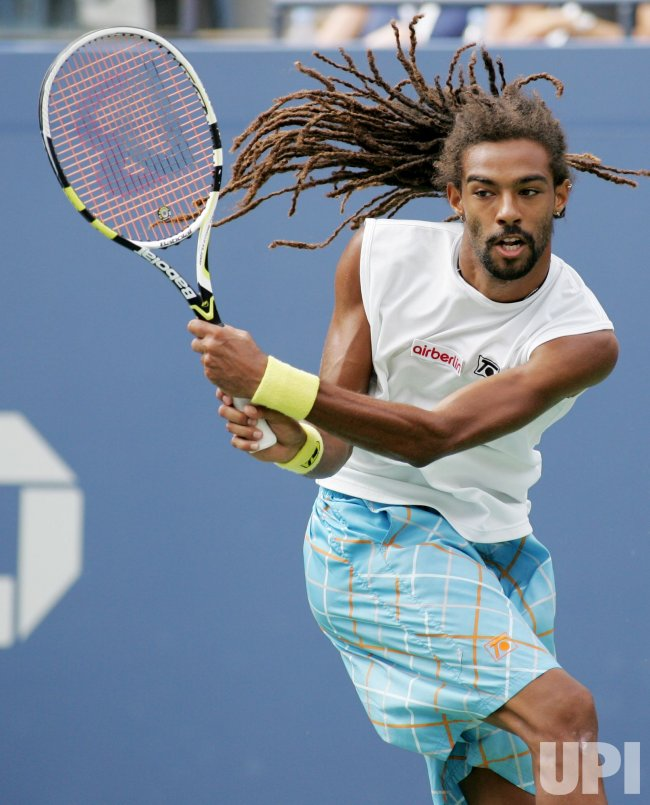 Andy Murray and Dustin Brown compete at the U.S. Open in New York