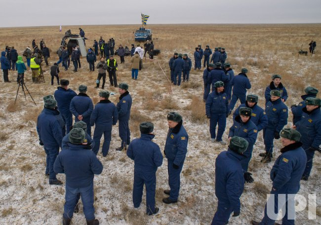 ISS Expedition 46 Landing
