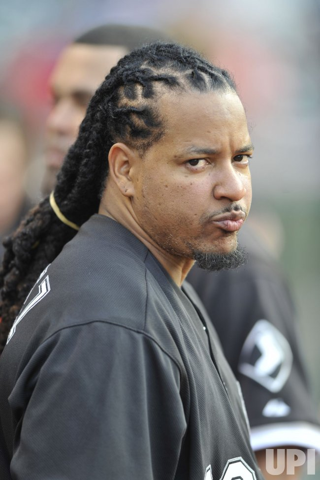 Designated Hitter Manny Ramirez In His First Game With White Sox