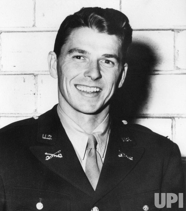 Lieutenant Ronald Reagan At Fort Mason