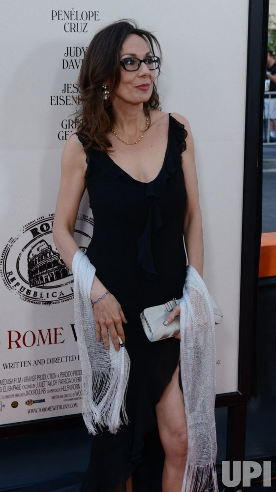 "Simona Caparrini attends the ""To Rome With Love"" premiere in Los Angeles"