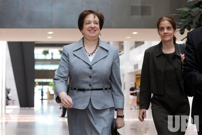 Supreme Court nominee Elena Kagan meets with Sen. Grassley in Washington