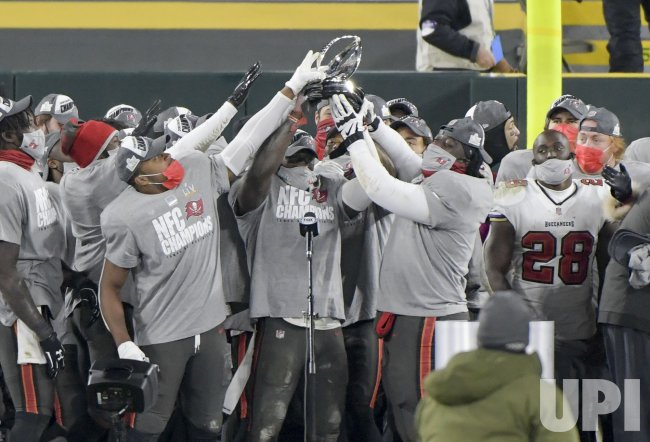 Tampa Bay Buccaneers win the NFC Championship