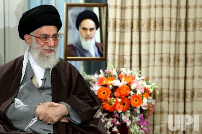Ali Khamenei delivers new year message in Tehran