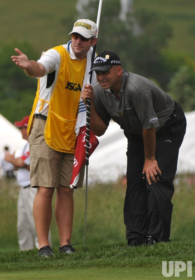 Round 2 of the 2009 U.S. Open at Bethpage Black in New York
