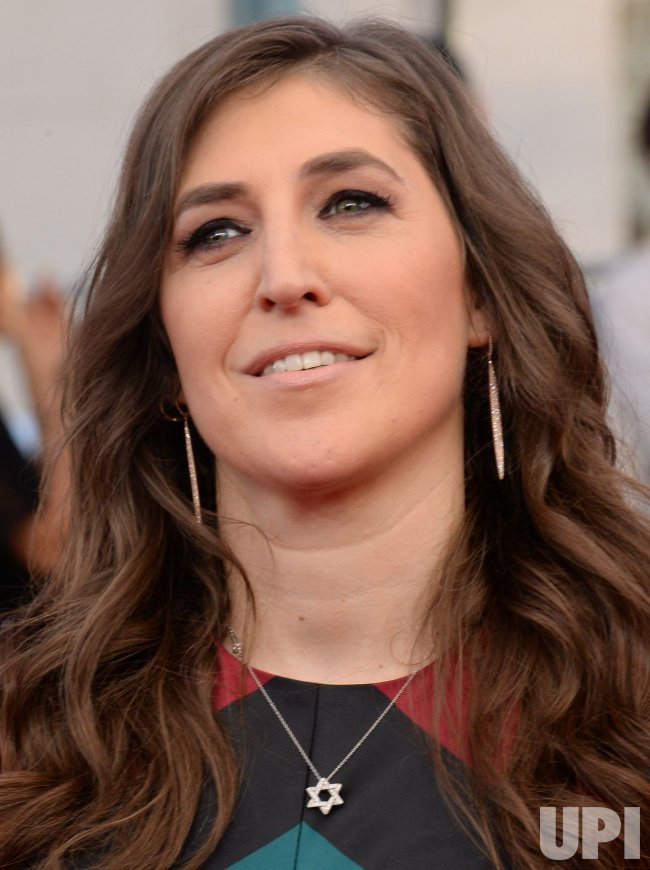 Mayim Bialik attends the 23rd annual SAG Awards in Los Angeles