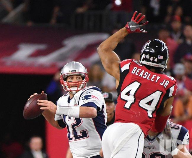 New England Patriots and Atlanta Falcons in Super Bowl LI