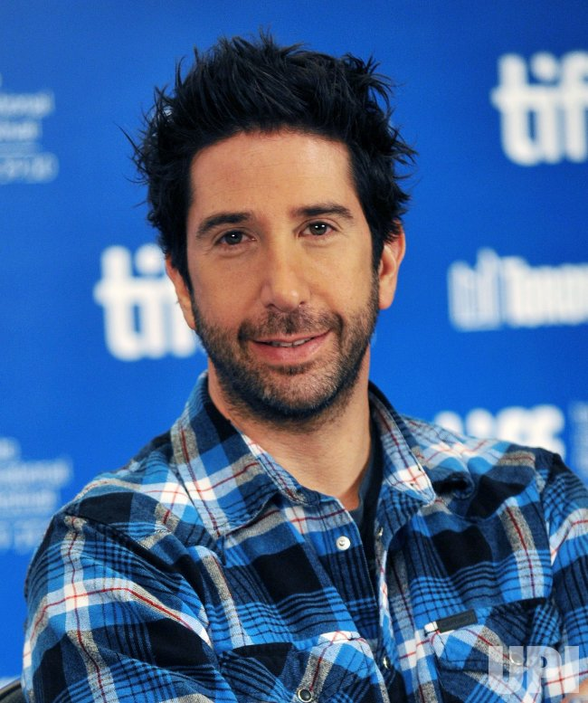 David Schwimmer attends press conference for 'Trust' at the Toronto International Film Festival